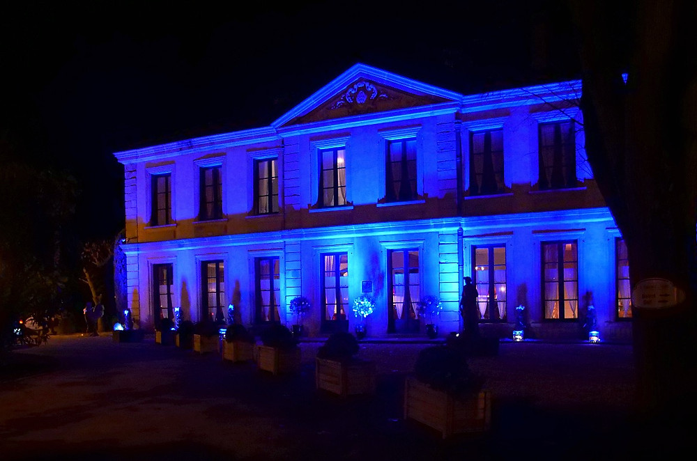 Eclairage façade - Domaine d'Auriac - SG Audio