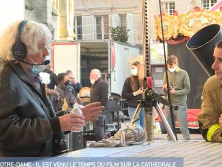 L'équipe de tournage de Jean-Jacques Annaud en Eartec au 12H45 d'M6 !
