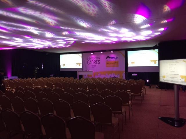 Salle de conférences - Hôtel de la Cité - SG Audio