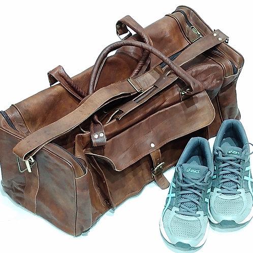 """Duffel/Range Bag (24"""") Goat Leather"""