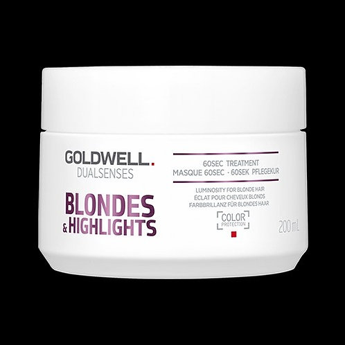 Goldwell DualSenses Blonde & Highlights 60 Seconds Treatment