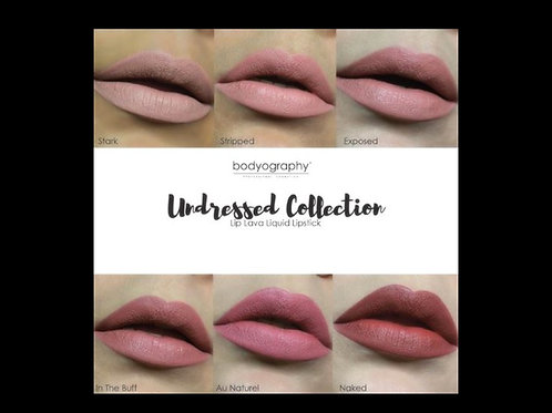 LIP LAVA UNDRESSED COLLECTION