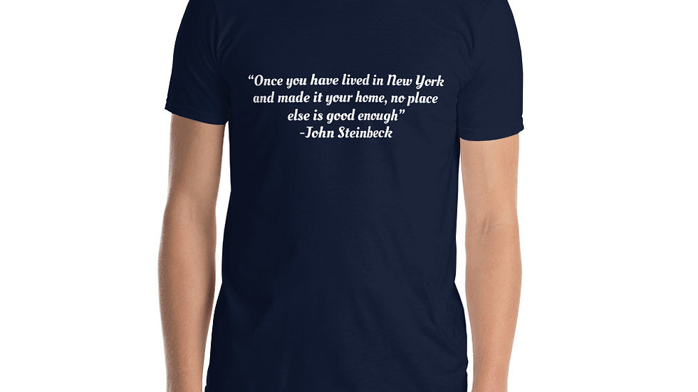John Steinbeck New York T-Shirt