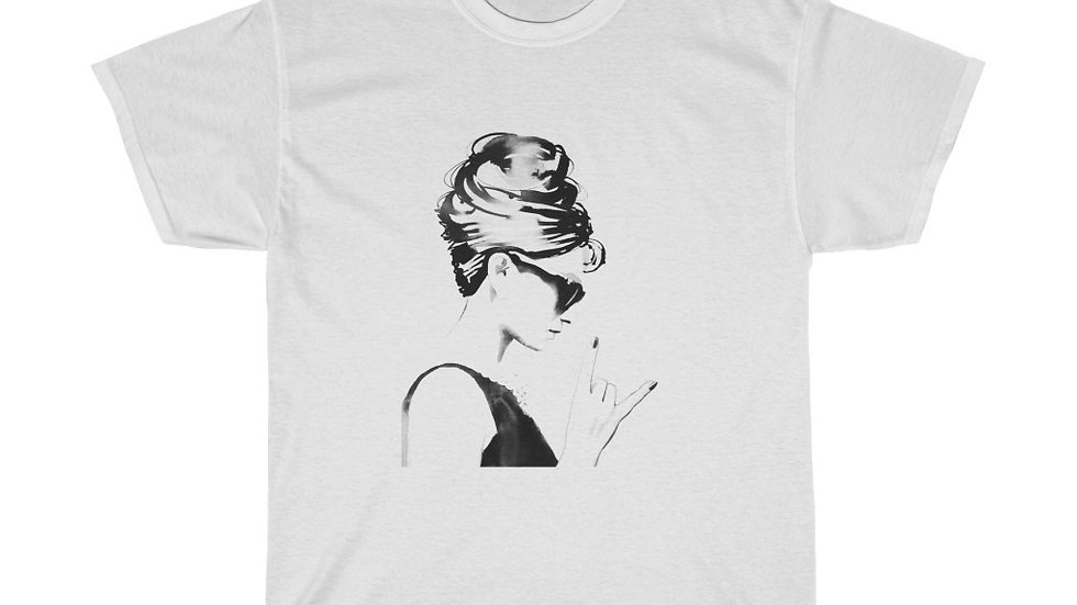 Audrey Hepburn Unisex Heavy Cotton Tee