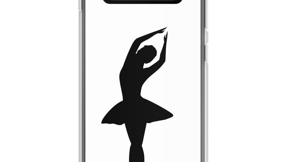 Samsung Case Ballet Dancer Silhouette