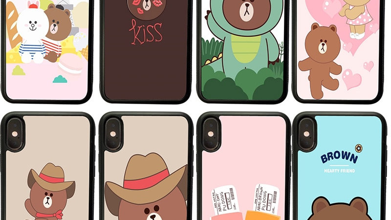 More Brown Cony Love Phone Case Hard Cover All Phones