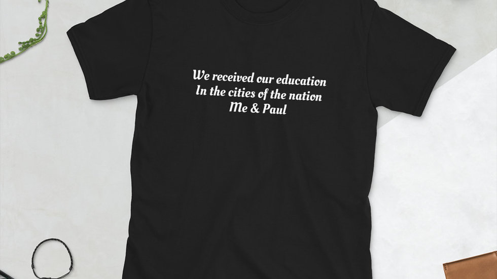 Me & Paul Willie Nelson T-Shirt Received Education Nation