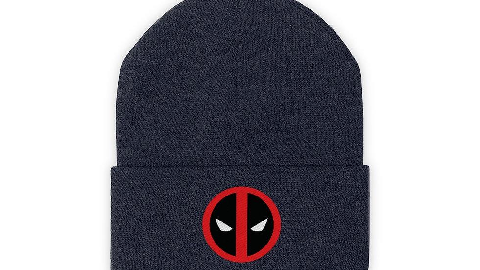 Deadpool Knit Beanie Winter Hat
