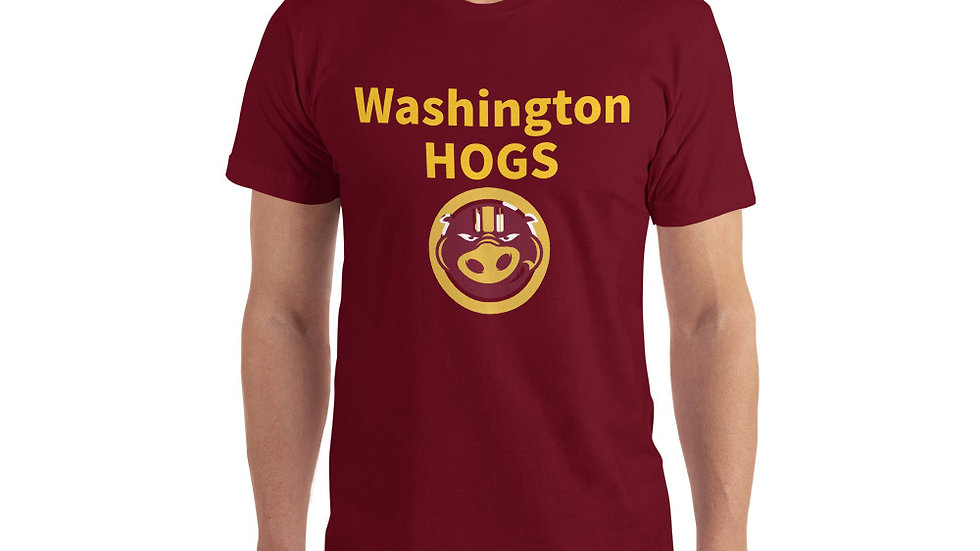 Washington Football Team Hogs Redskins T-Shirt