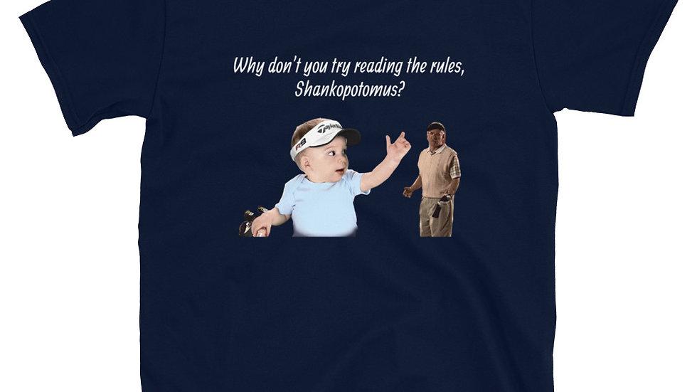 Etrade Baby Shankopotomus golf T-Shirt