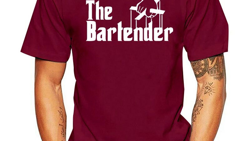 Bartender T-Shirt for Male
