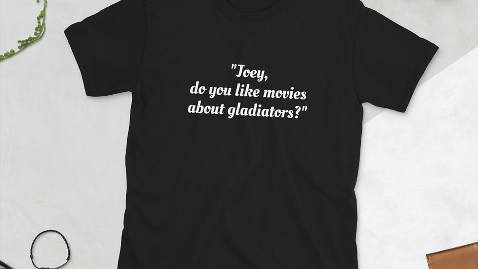 Short-Sleeve Unisex T-Shirt Airplane Joey Gladiators