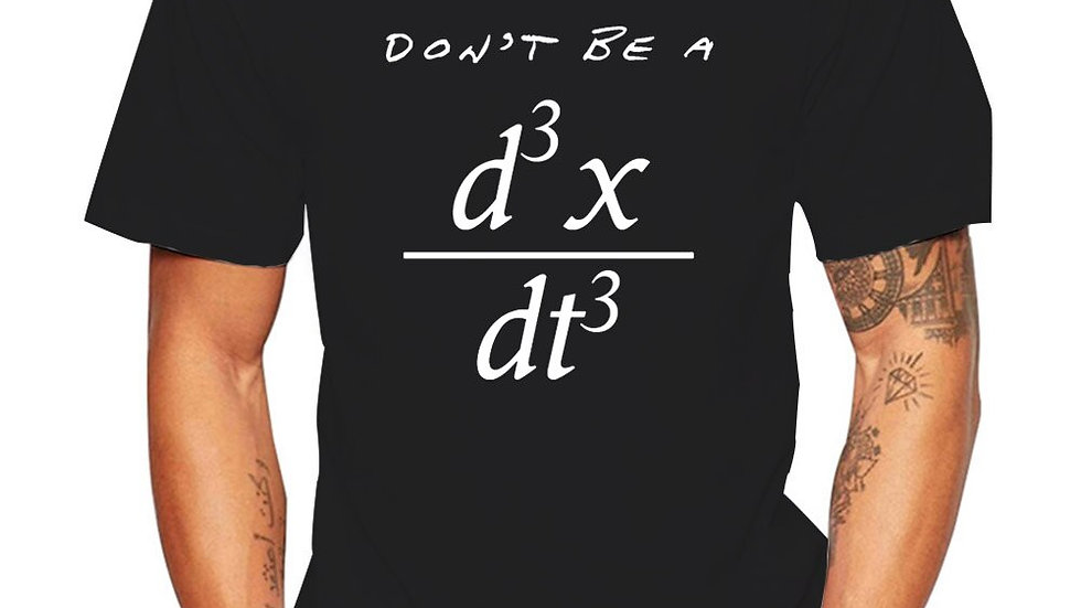 Don't Be a Jerk Mathematical Equation Funny Geek Math T-Shirt