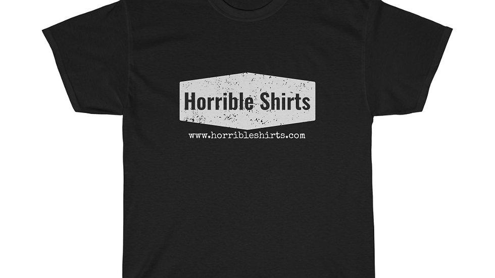 Horribleshirts.com Logo Unisex Heavy Cotton Tee