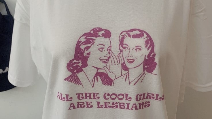 All the Cool Girls are Lesbians T-Shirt Graphic T-Shirt