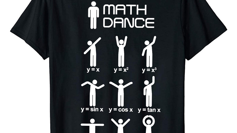 Several Different Math T-Shirts