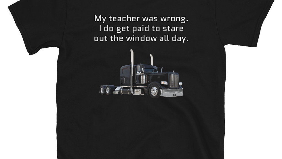 Short-Sleeve Unisex T-Shirt Trucking