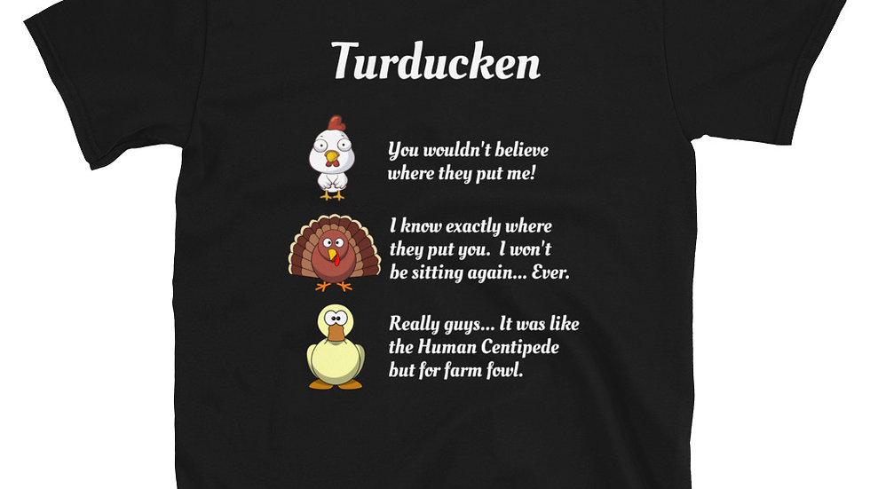 Turducken T-Shirt Thanksgiving Turkey Duck Chicken