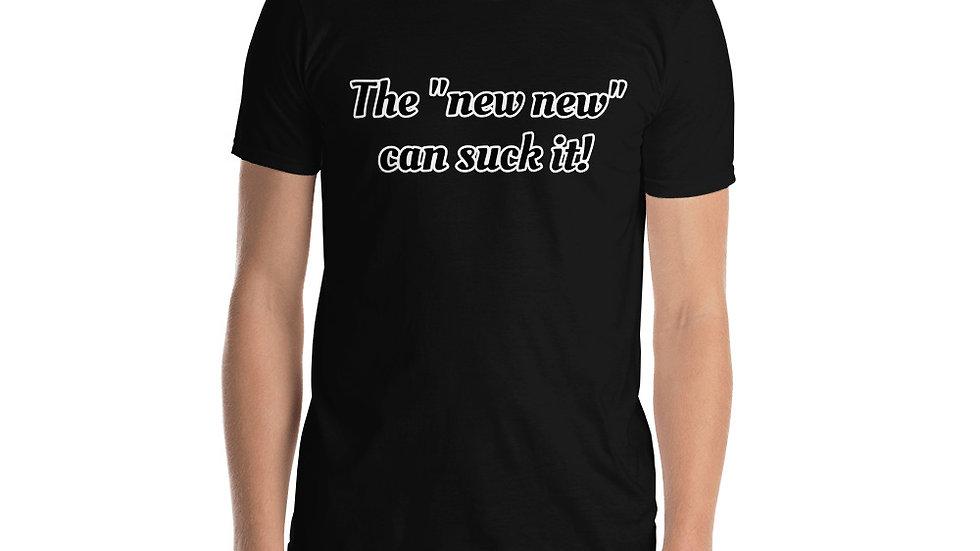 Short-Sleeve Men's T-Shirt New New Suck it