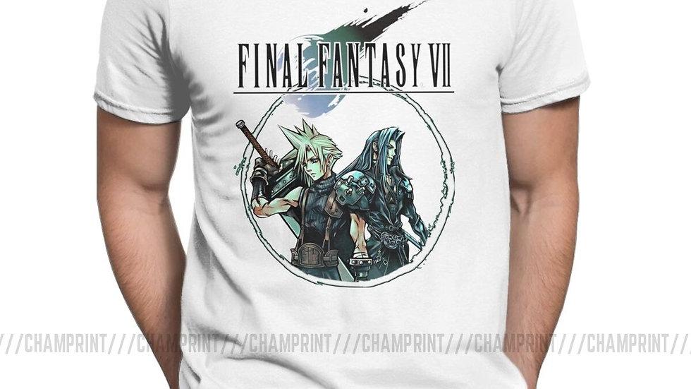 Sephiroth Final Fantasy VII Video Game T Shirt FF7 FFVII