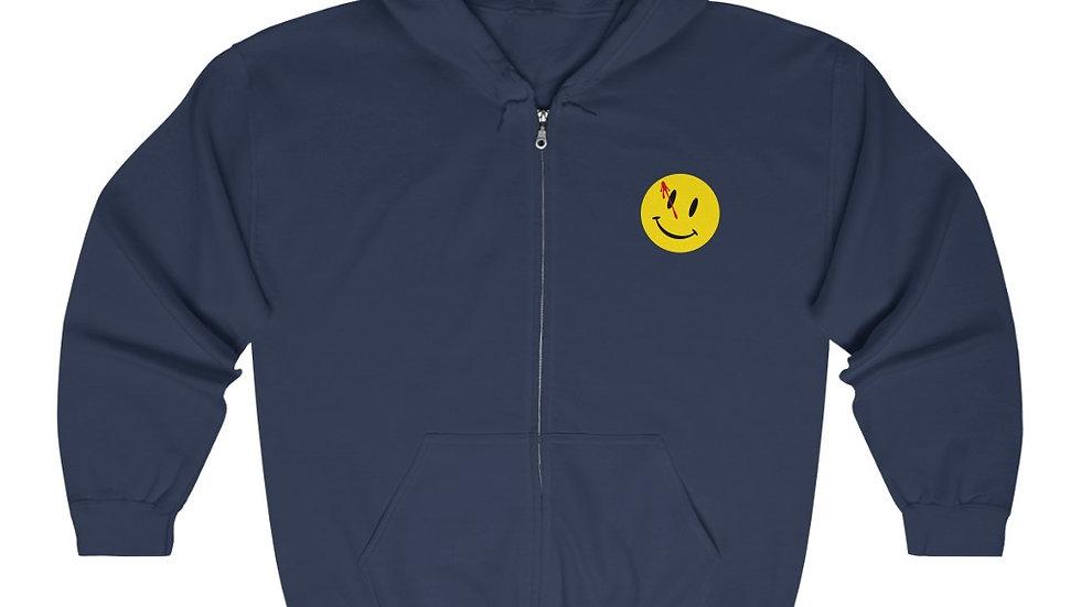Watchmen Comedian Unisex Heavy Blend Full Zip Hooded Sweatshirt