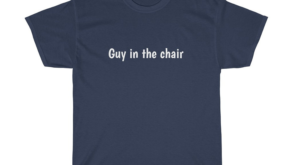 Guy in the chair Unisex Heavy Cotton Tee Tech IT Spider-man Ned