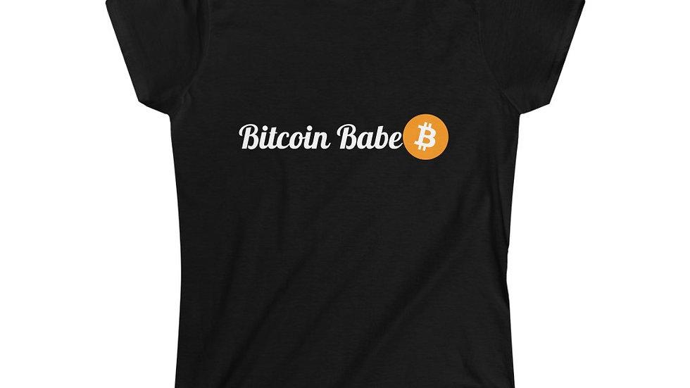Bitcoin Babe Women's Softstyle Tee