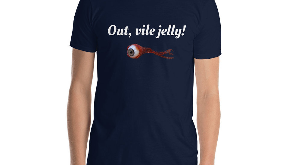 Shakespeare King Lear out vile jelly eye T-Shirt
