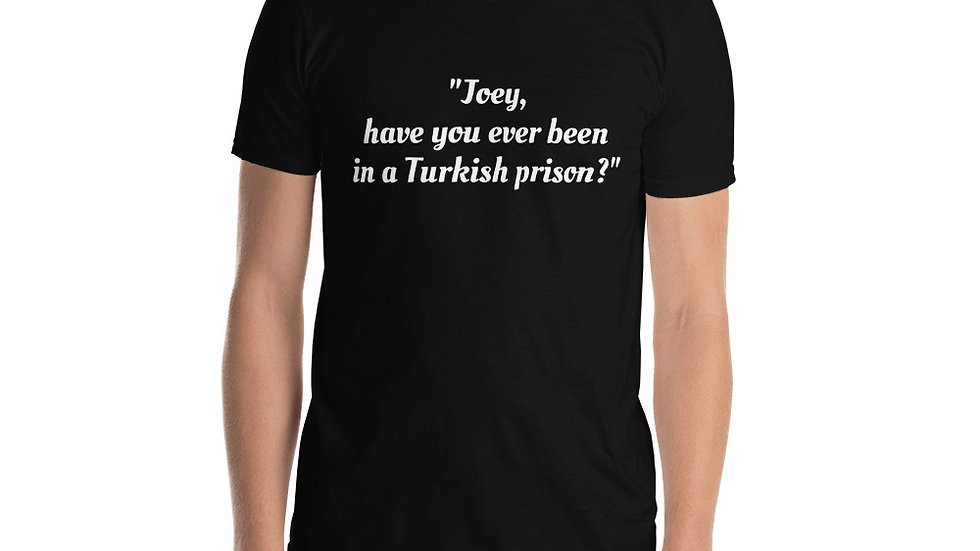 Short-Sleeve Unisex T-Shirt Airplane Turkish Prison