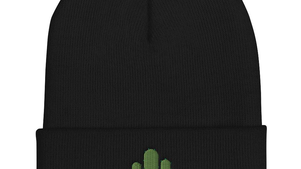 Cactus Cuffed Beanie