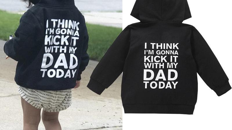 Toddler Girl Boy Swearshirts