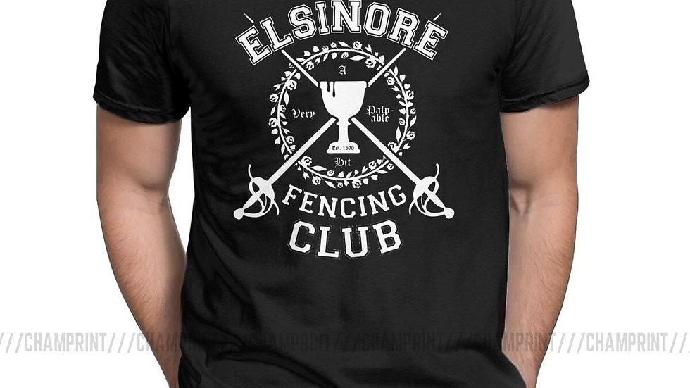 Elsinore Fencing Club Hamlet T-Shirt Shakespeare Theatre