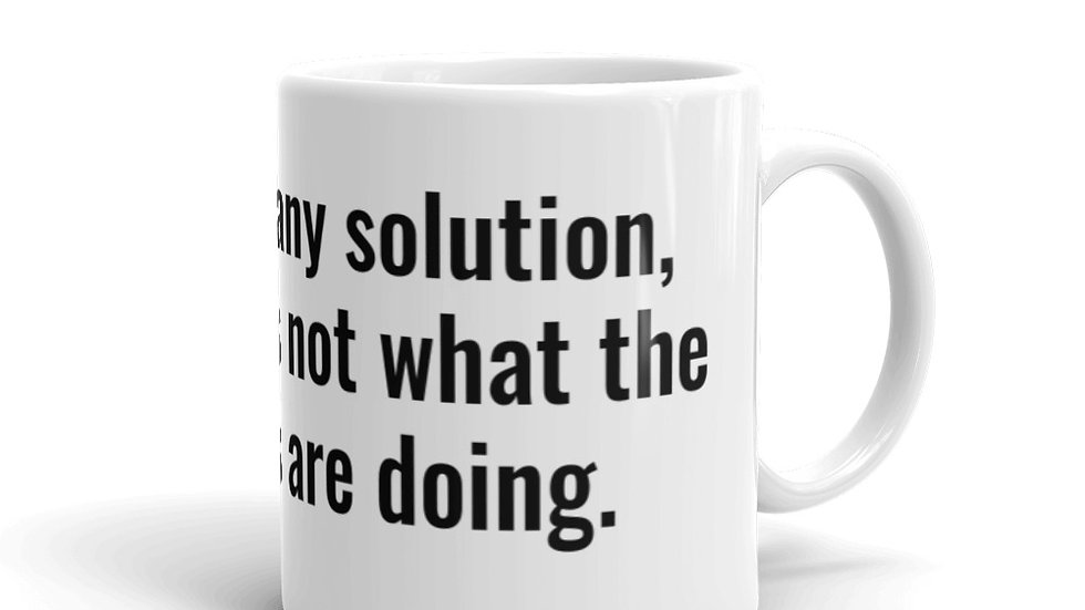Open to Solutions Billy Beane Moneyball Mug