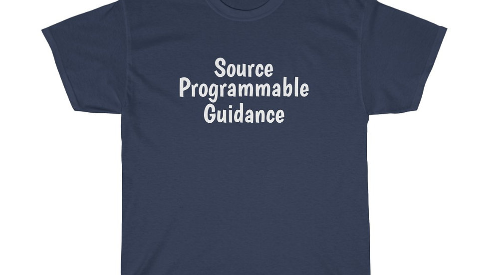 Source Programmable Guidance Unisex Heavy Cotton Tee Spies Like Us