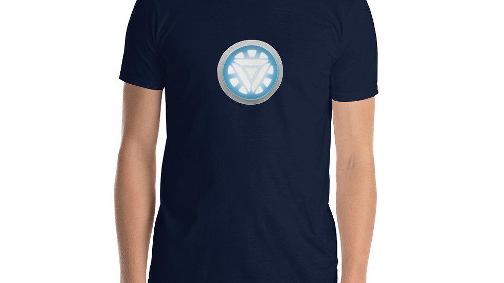 Short-Sleeve Unisex T-Shirt Iron Man Arc Reactor Tony Stark