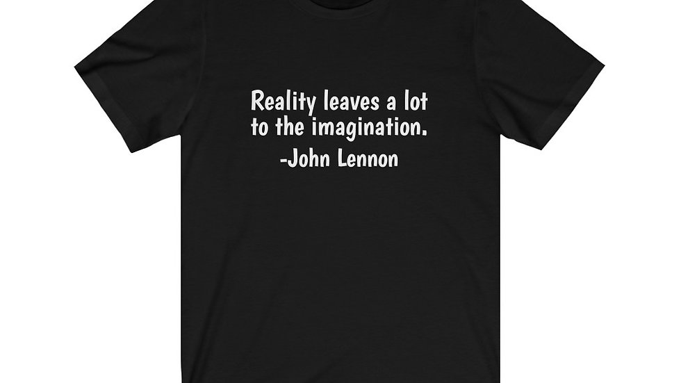 John Lennon Reality Imagination Imagine T Shirt