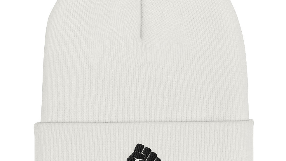 Cuffed Beanie BLM Symbol Fist