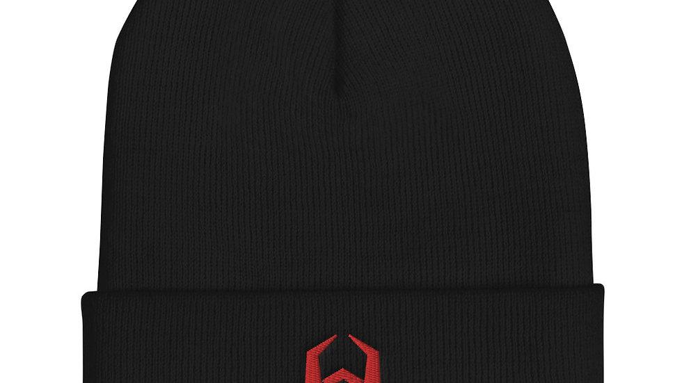 Malware Symbol Cuffed Beanie Computer Virus Winter Hat