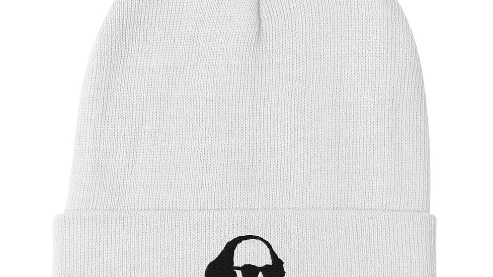Shakespeare Embroidered Beanie