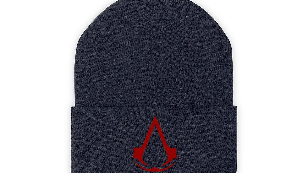 Assassins Creed Logo Knit Beanie Winter Hat