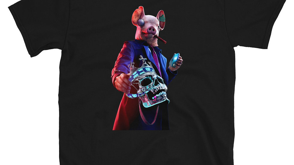 Watchdog Legion Winston Pig Mask T-Shirt