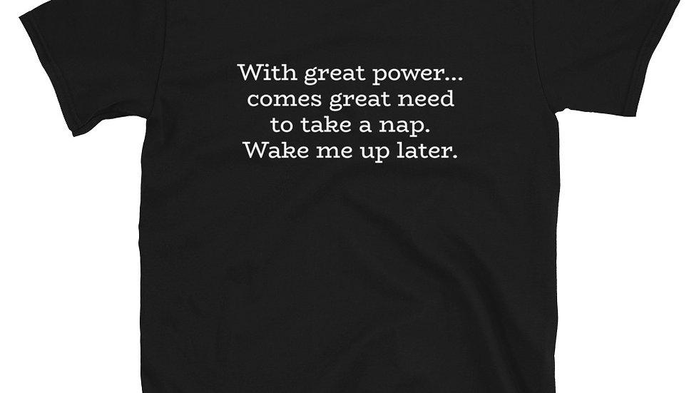 Percy Jackson Nico DiAngelo Rick Riordan T-Shirt Great Power PJO