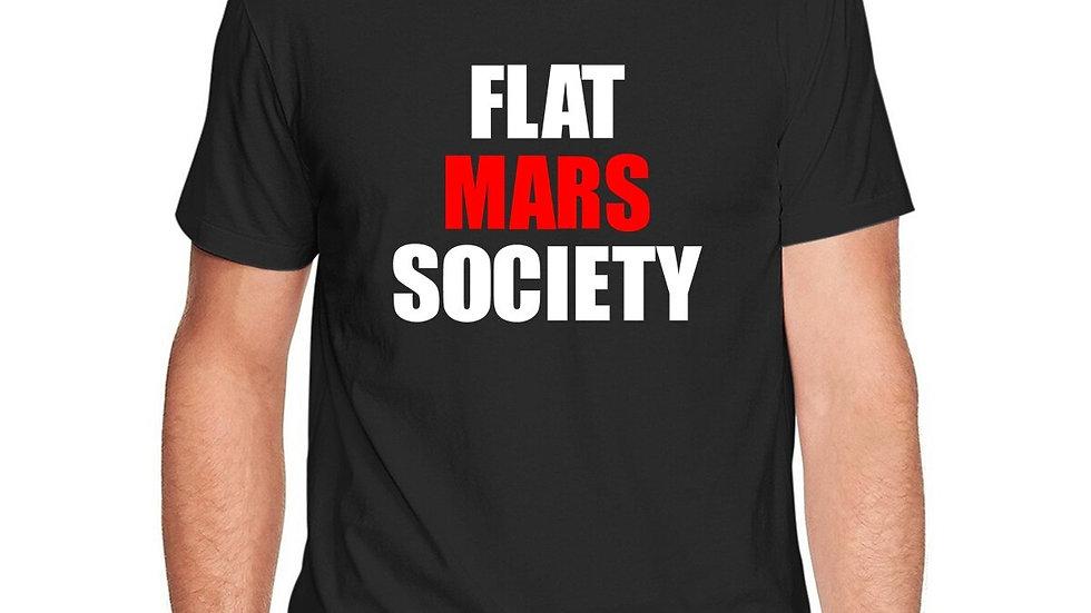 Flat Mars Society T-Shirt Tops