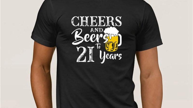 21st Birthday Funny T-Shirt