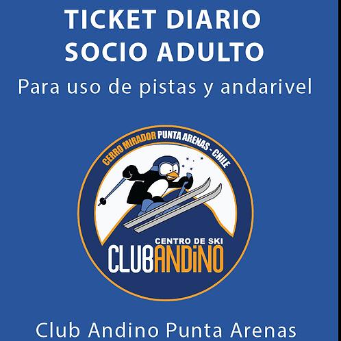 Ticket Socio Adulto
