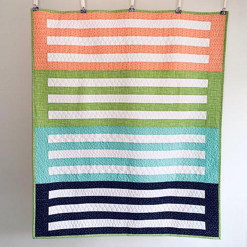 Striped Lap Quilt