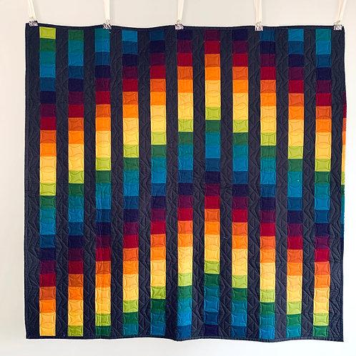 Rainbow Billaro Lap Quilt