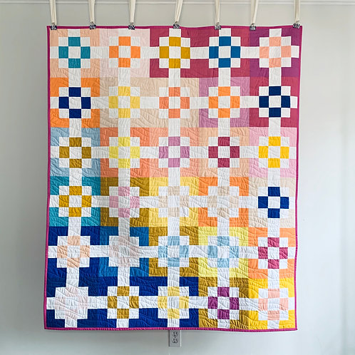 Interchange Throw Quilt - Then Came June Solids