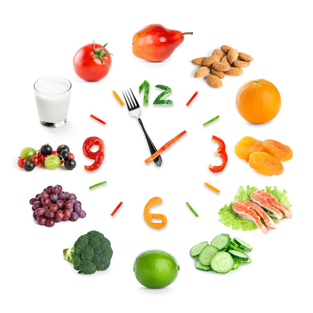 Tijd voor gezond eten.