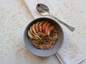 Havermout ontbijt